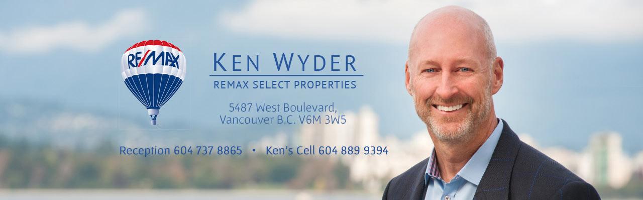 Contact Ken Wyder Real Estate Agent In Vancouver Westside