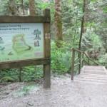 Camosun Bog entrance