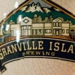 Granville Island Brewing porcelain tap