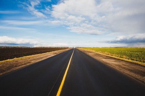 road horizon